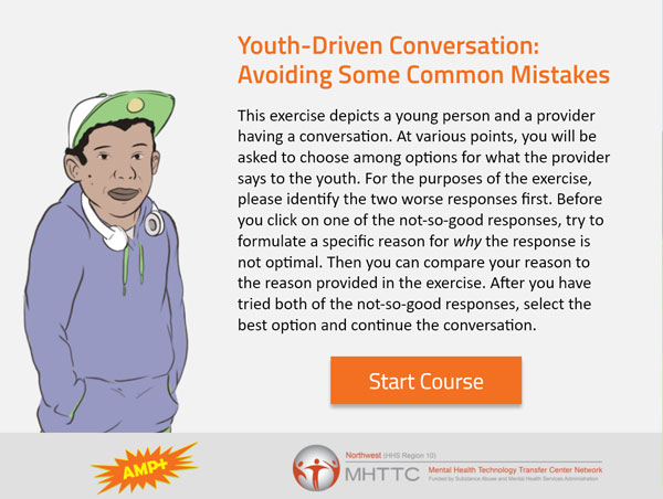 AMP E-Module: Youth-Driven Conversation – Avoiding Some Common Mistakes