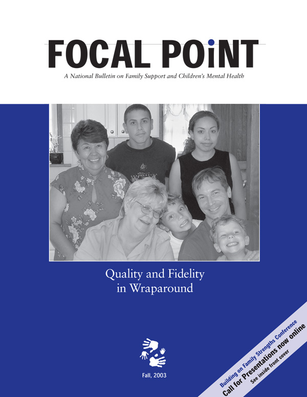 Fall 2003 Focal Point cover