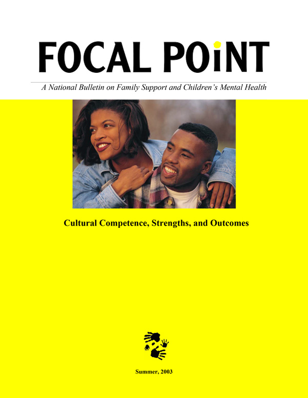 Summer 2003 Focal Point cover