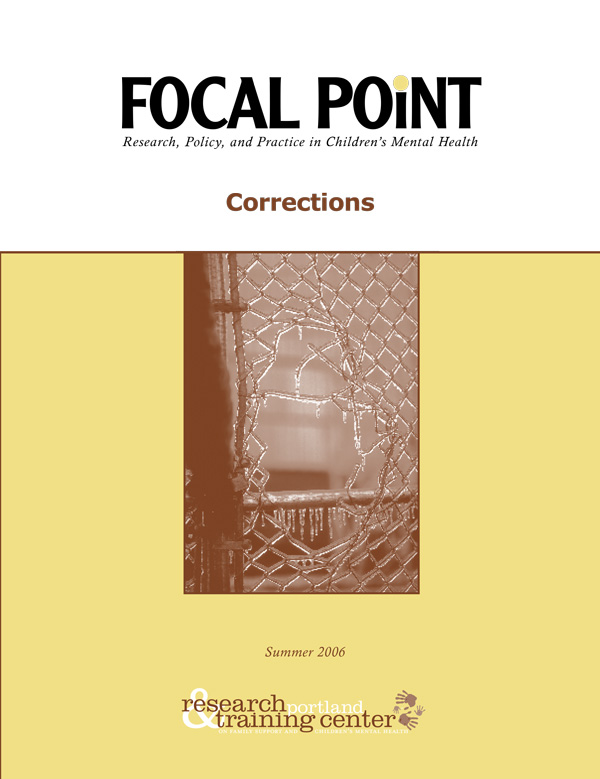 Summer 2006 Focal Point cover