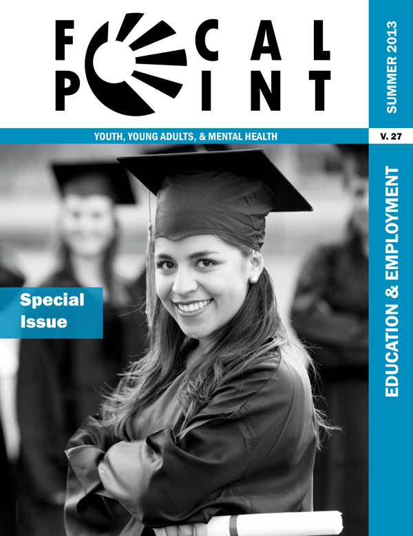 Summer 2013 Focal Point cover