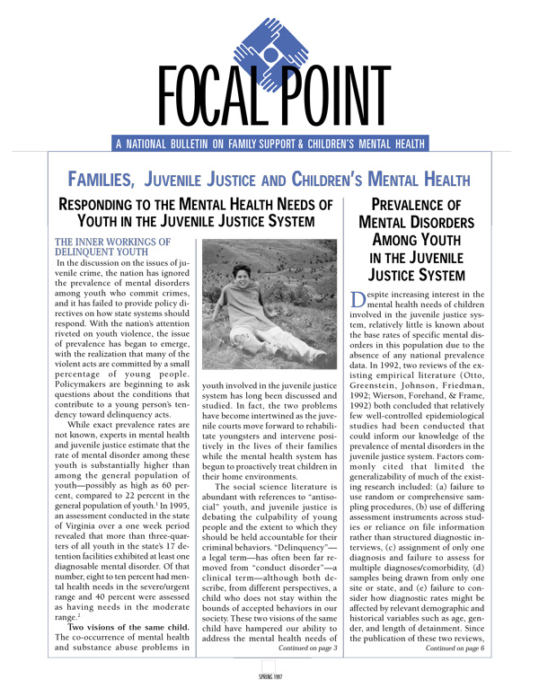 Spring 1997 Focal Point cover