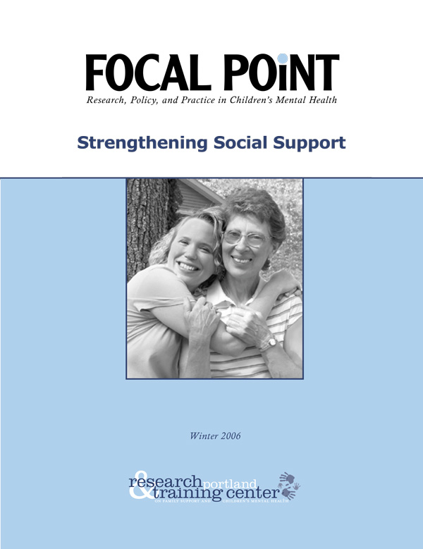 Winter 2006 Focal Point cover