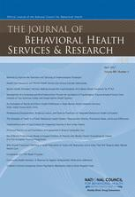 Journal of Behavioral Health Services and Research