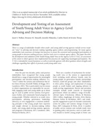 Development and Testing of Y-VAL Assessment article [enable images to see]