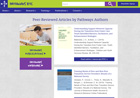 Peer-reviewed articles page [enable images to see]
