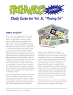 Pathways Comics volume 5 Study Guide [enable images to see]
